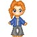 The first of many ADORABLE little pixels sent to us from Michelle (not me >__>)...