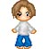 The second of many ADORABLE little pixels sent to us from Michelle (not me >__>)...