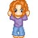 The fourth of many ADORABLE little pixels sent to us from Michelle (not me >__>)...